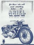 Ariel Square Four Motorcycle Poster P109
